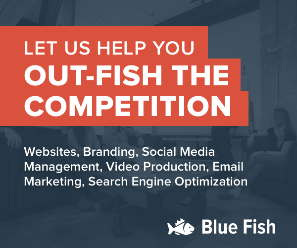 Blue Fish Ad