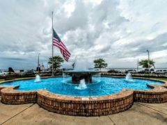 Fairhope Flag Fountain Pier